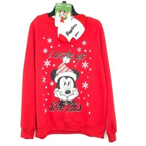 Disney Christmas Sweatshirt & Sock Set Flawless Rd